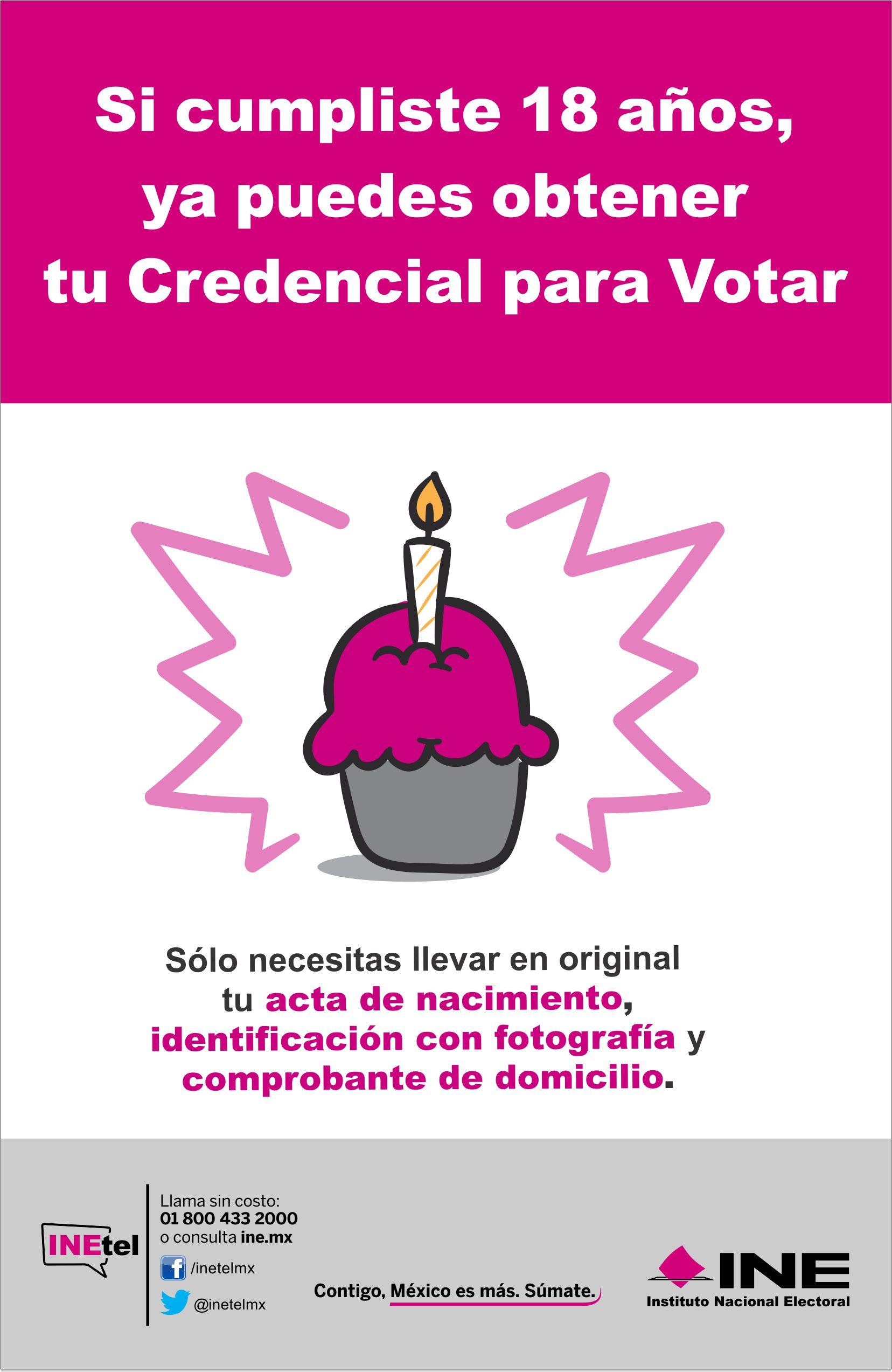 Credencial Para Votar Ine Unid