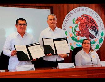 Firman Convenio de Colaboración con la Junta de Gobierno