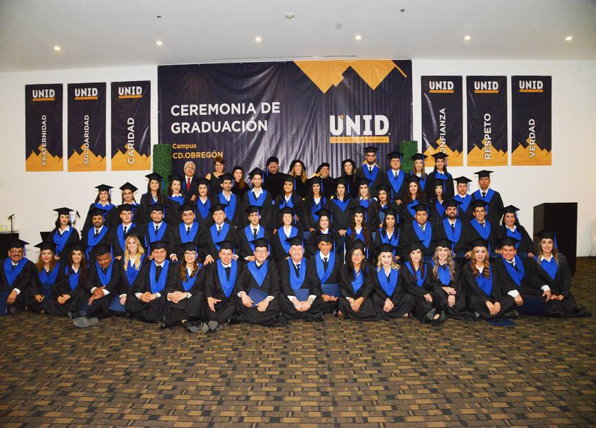 Llevan a cabo emotiva despedida de los egresados del Campus Cd. Obregón generación 2014- 2017