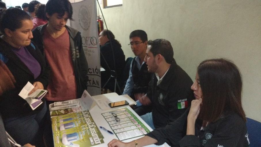 Se realiza con éxito 3era Feria del Servicio Social