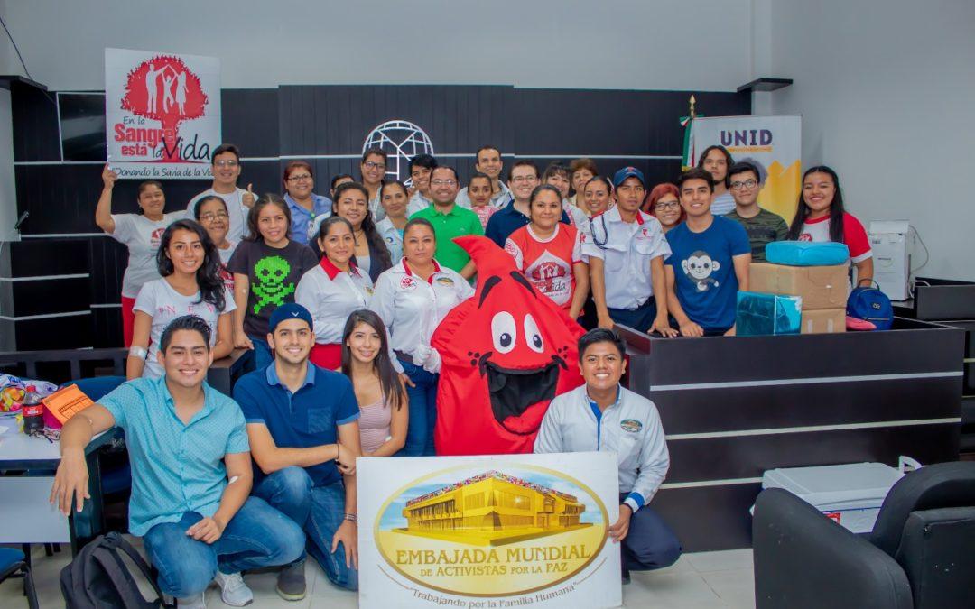 Donar para Salvar en UNID Campus Coatzacoalcos