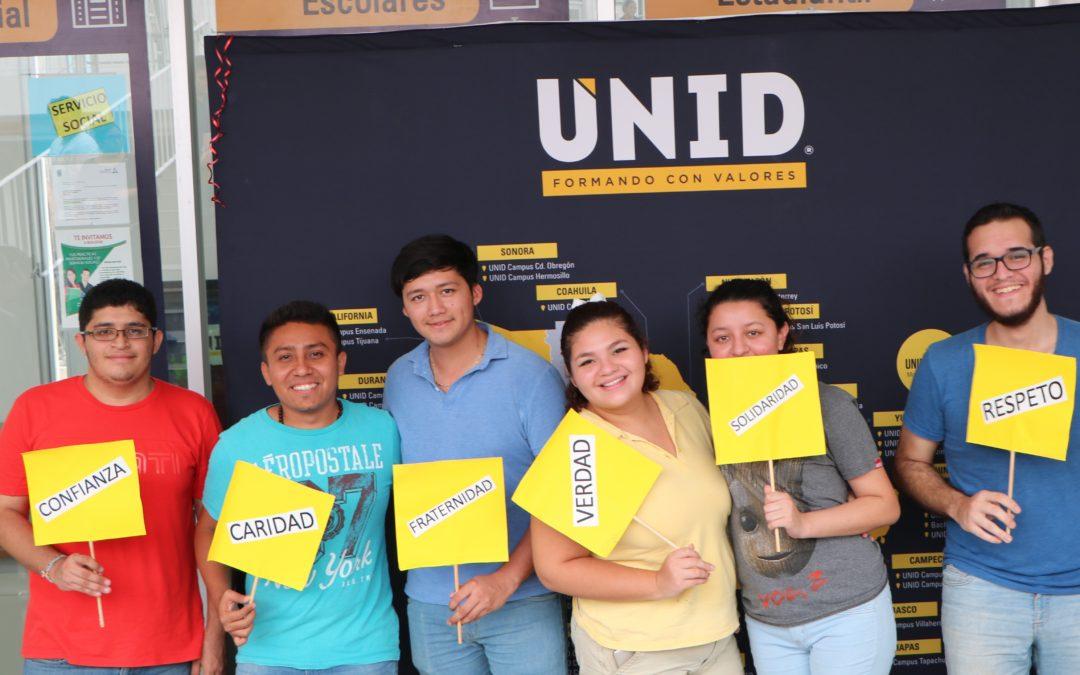 Feria FIMPES en UNID Campus Campeche