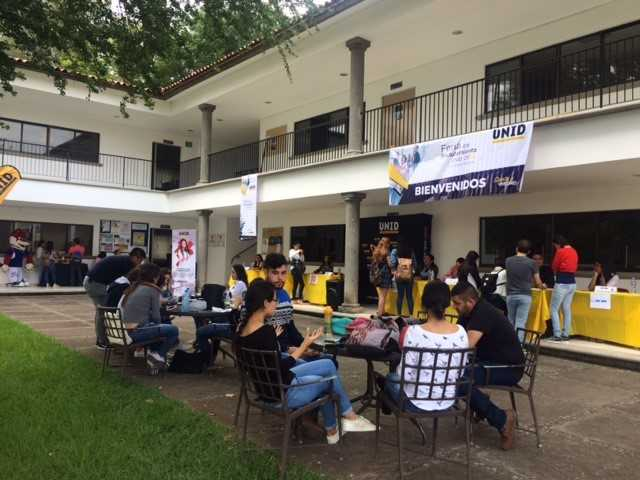 Feria de Reclutamiento en UNID Campus Cotija