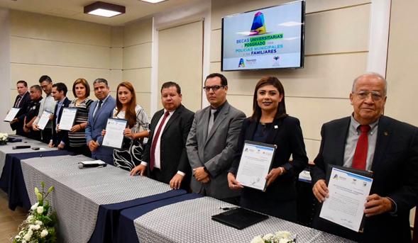 Firma de acuerdos entre Ayuntamiento Capitalino y UNID Campus Aguascalientes