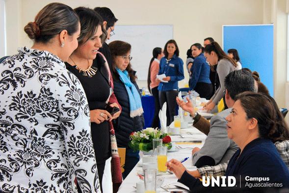 Visita de orientadores vocacionales a UNID Aguascalientes