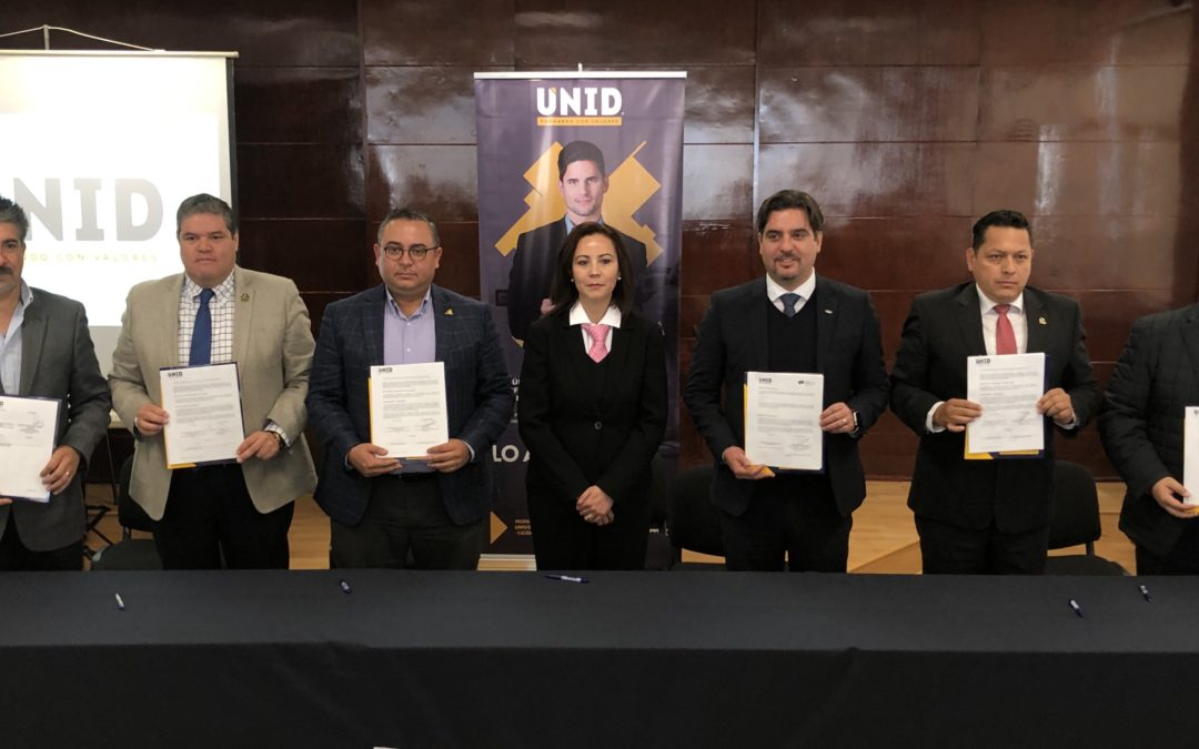 UNID Campus Zacatecas renueva sus relaciones institucionales
