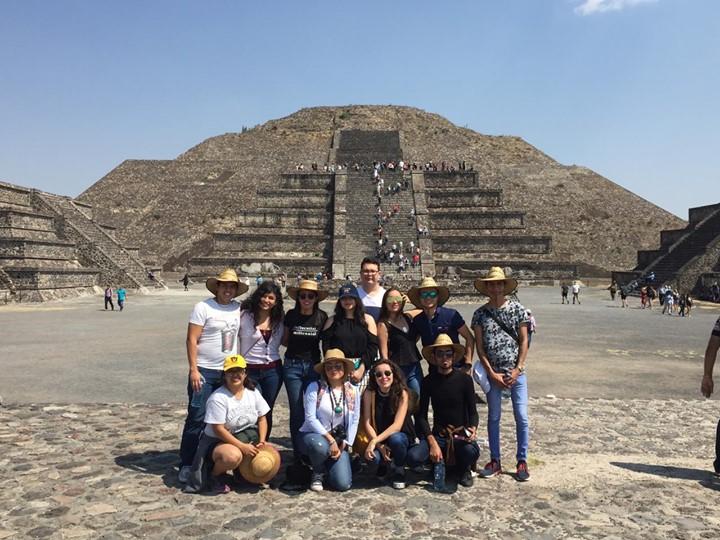 Alumnos UNID San Luis Potosí visitaron la Zona Arqueológica de Teotihuacán, en el Estado de México.