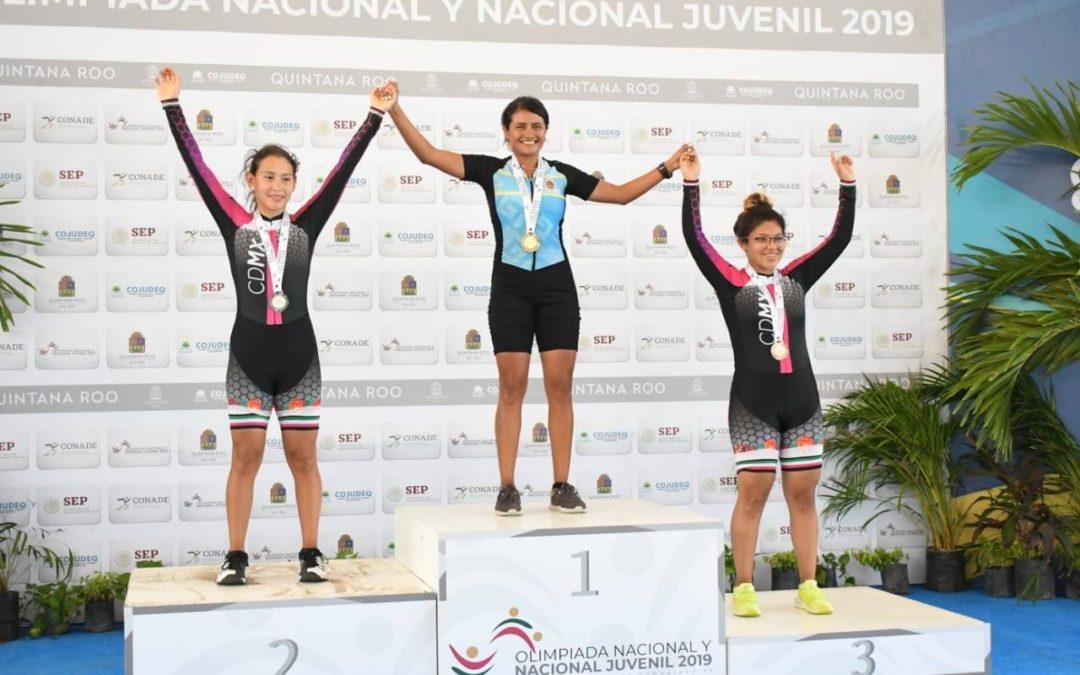 Alumna UNID gana oro en Olimpiada Nacional Juvenil 2019