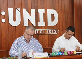Firman convenios de colaboración